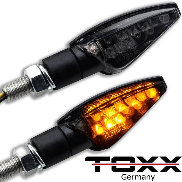 ToXx LED Blinker Toledo schwarz getönt