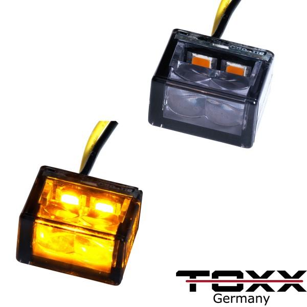 ToXx LED Blinker Cube schwarz getönt