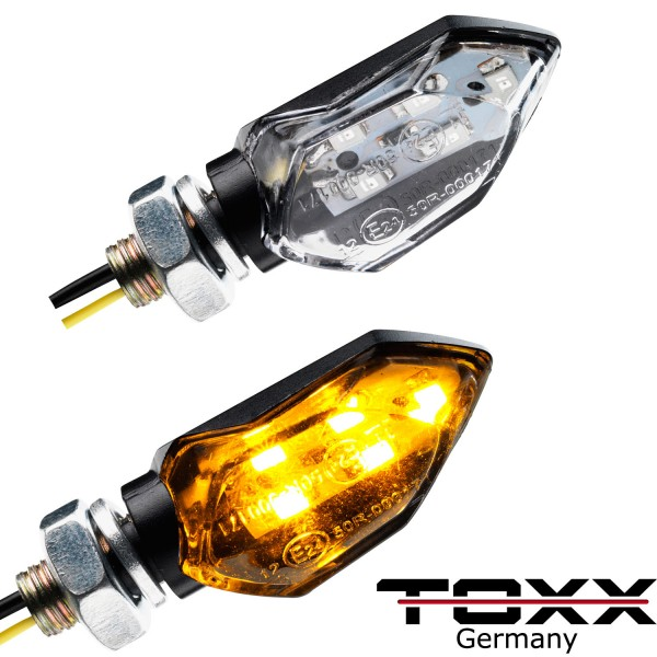 ToXx LED Blinker Tight schwarz klar