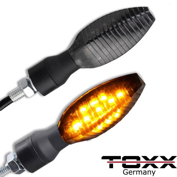 ToXx LED Blinker Roof schwarz getönt