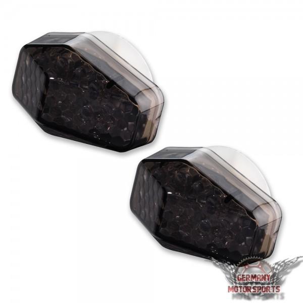 LED Verkleidungsblinker Suzuki schwarz getönt