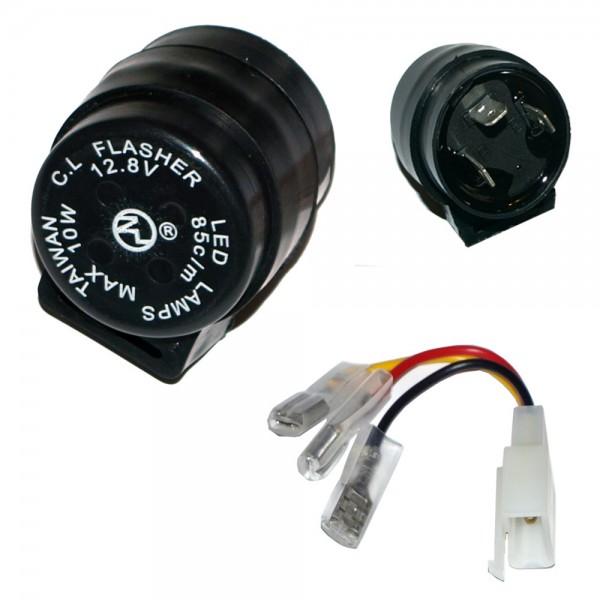 ToXx Universal LED Blinkrelais 3 Polig rund 1-10W