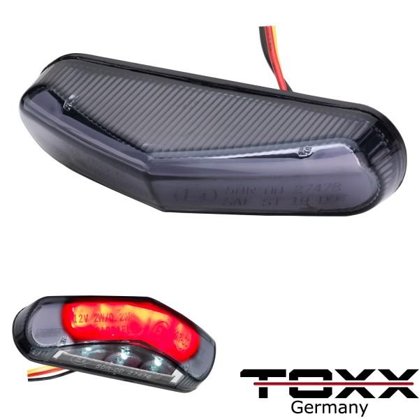 ToXx LED Rücklicht Triangle Stealth schwarz getönt