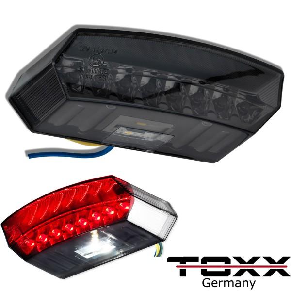 ToXx LED Rücklicht Boston schwarz getönt