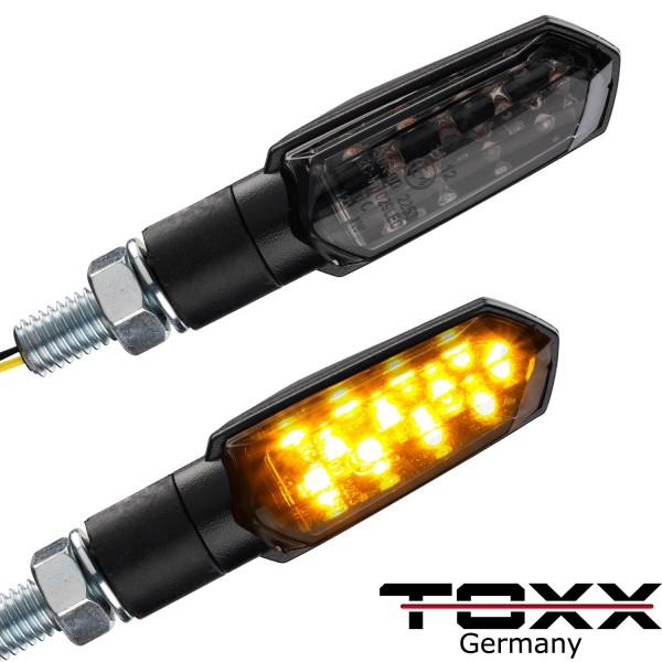 ToXx LED Blinker Spear schwarz getönt