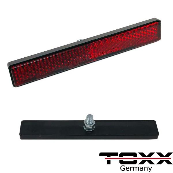 ToXx Motorrad Kennzeichen Reflektor zum Schrauben