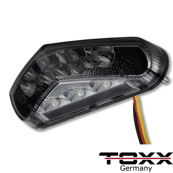 ToXx LED Rücklicht Triangle schwarz getönt